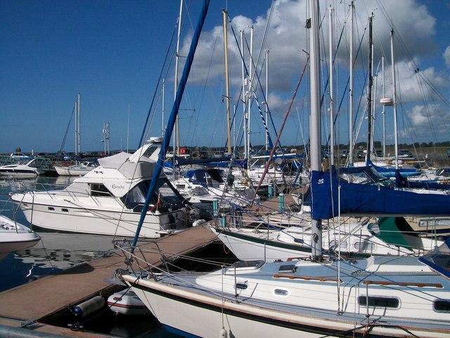 Yachts at Doc Victoria