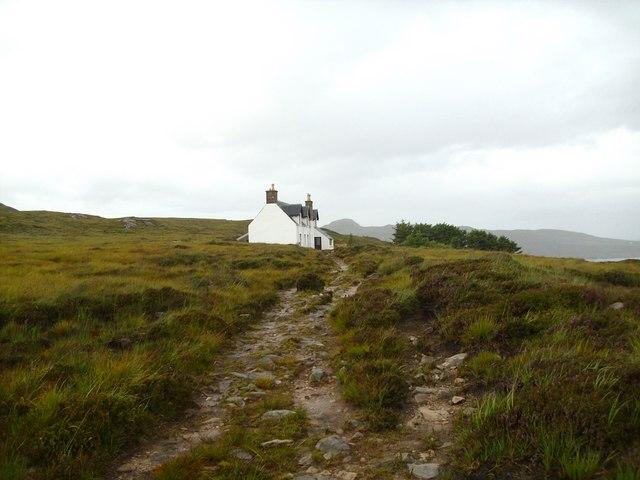 Island path, Tanera Mor