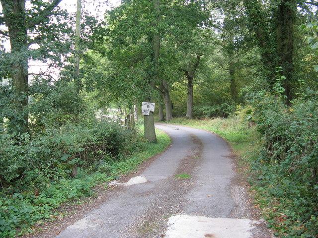 Bridleway to Greentree Farm