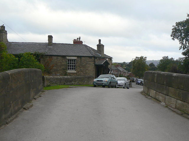 Bridge and Toll House, Marple
