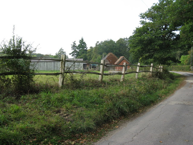 Farm buildings at Greentree Farm