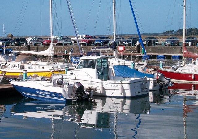 Boats at Doc Victoria