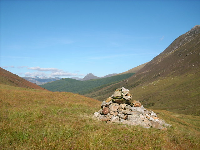 Cairn beside the path