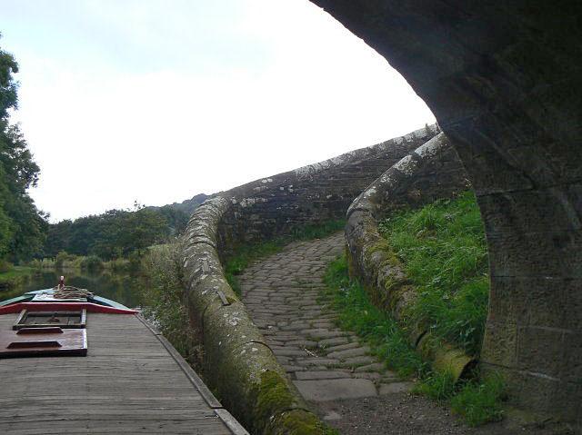 Turnover bridge