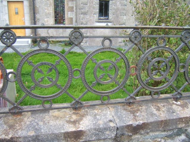 Fence detail, St Columba's Church