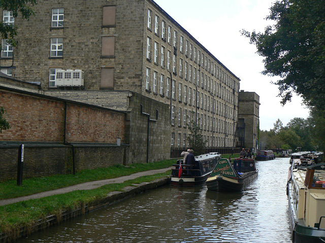 Passing Adelphi Mill