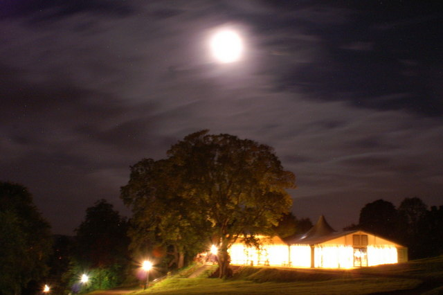 The pavilion at Fingask Castle