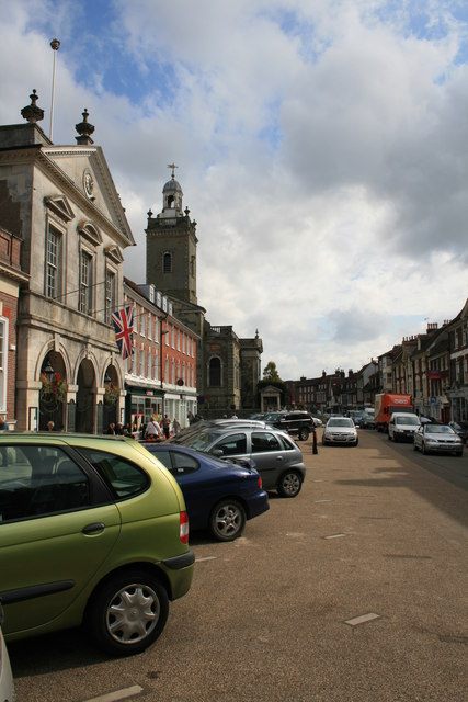 Market Place, Blandford Forum