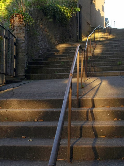 Steps to St Luke's Road