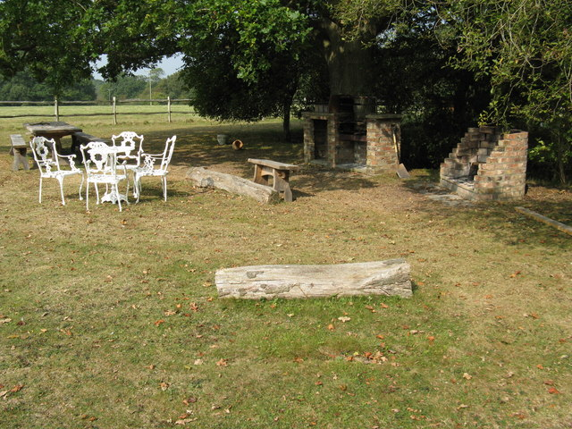 Barbeque area at Reeds