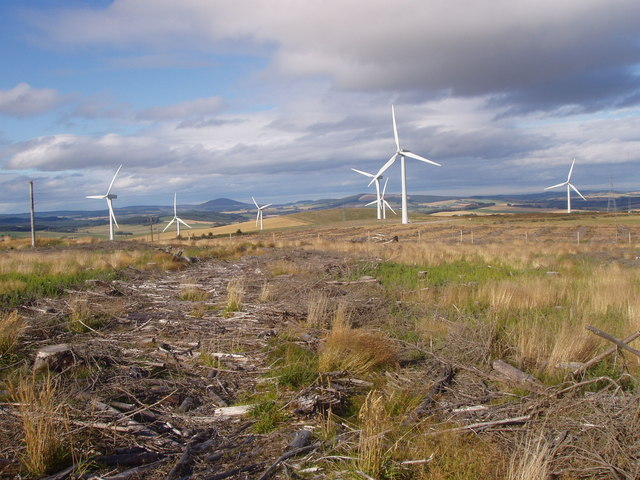 Windfarm on Winds Eye Hill
