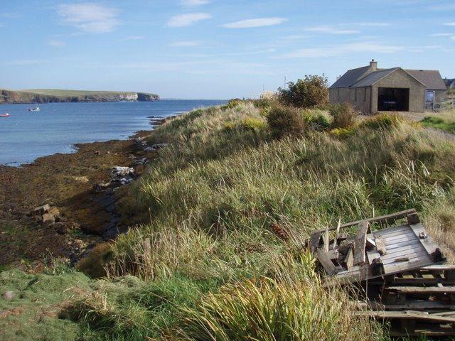 Aith Hope coast line