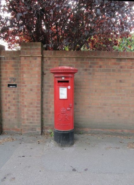 Post box by the road