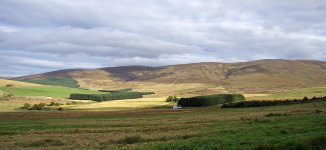 Burnside below the Cromdale Hills