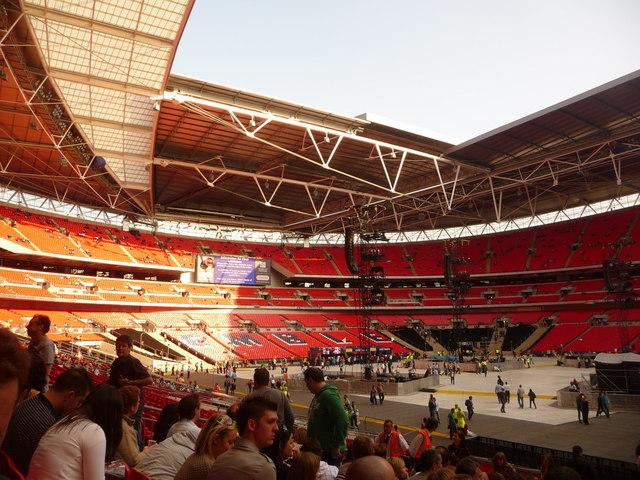 Wembley: inside the stadium