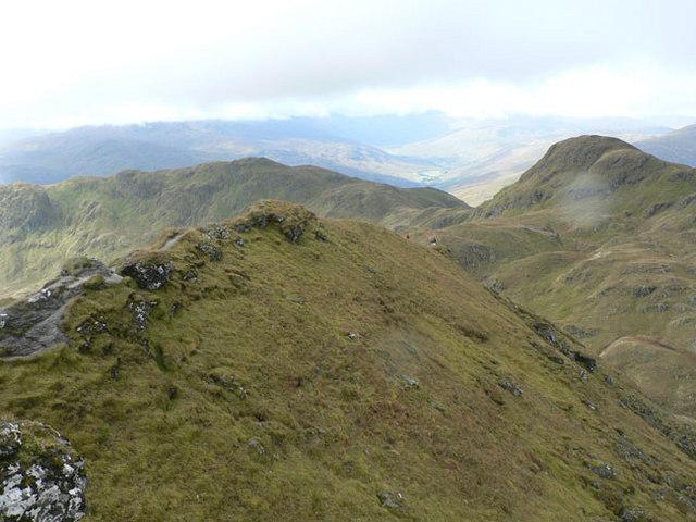 Summit ridge path