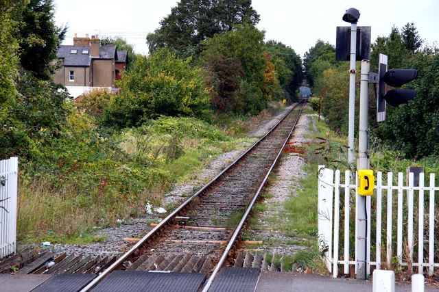The line down to Bourne End