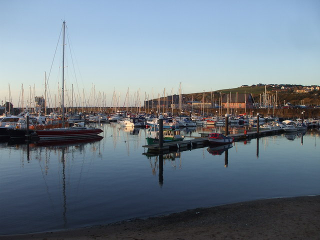 The marina, Whitehaven