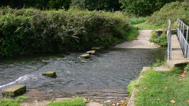 Ford over the Rother at Stedham Mill