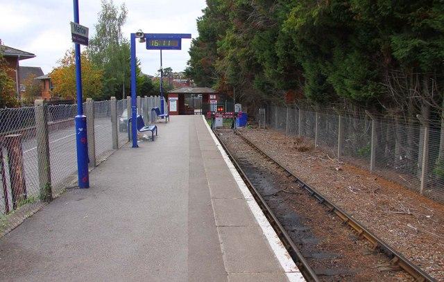 The stop block at Marlow Station