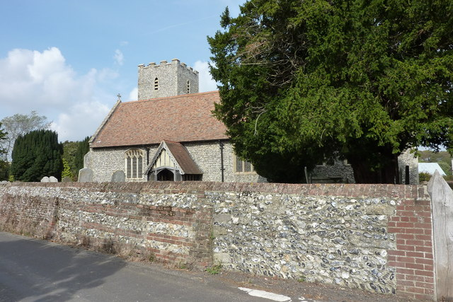 The church of St. Mary the Virgin, Nonington