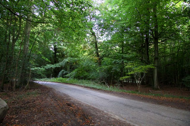 The road back to Stokenchurch
