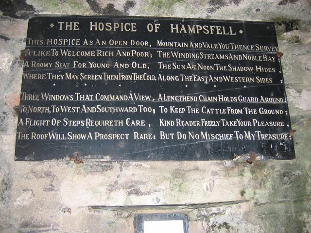 The Hospice at Hampsfell (interior)