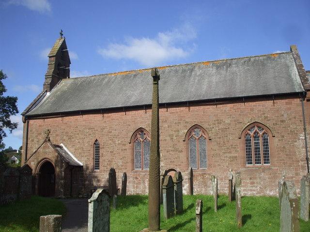 Viking cross in Gosforth churchyard