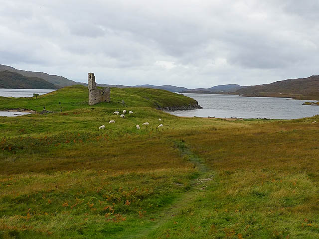 Ruins of Ardvreck Castle