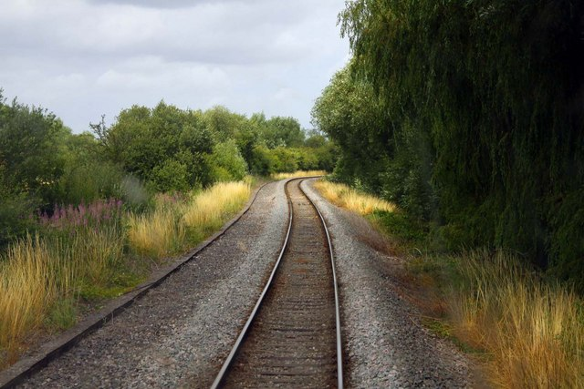 The line curves towards Upper Wolvercote