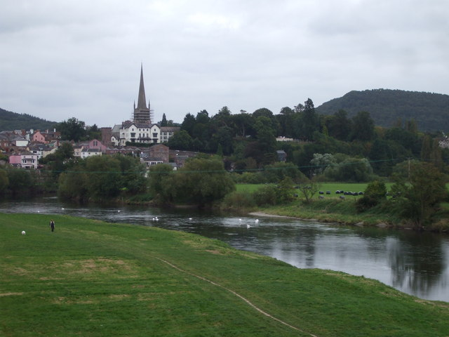 Ross on Wye from the A40