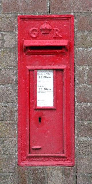 GR Postbox, Brisco