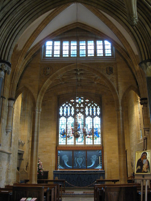The Lady Chapel of Sherborne Abbey,  Dorset.