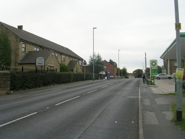 Victoria Road - viewed from Church Street