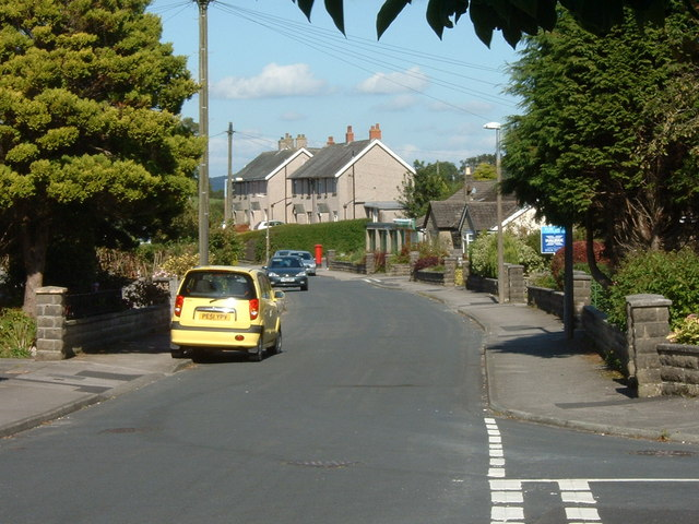 Bungalows and council houses, Slyne-with-Hest