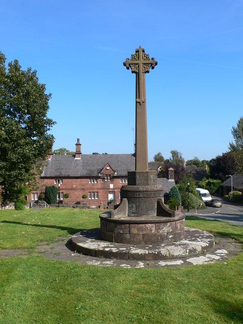 Memorial Cross at Caldy