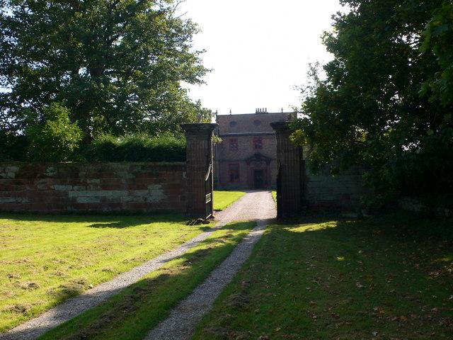 Gateway to Thurstaston Hall