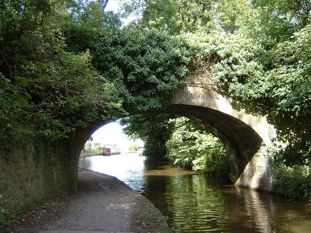 Occupation Bridge, Lancaster Canal at Hest Bank