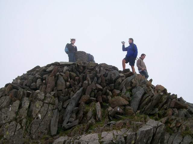 Copa'r Wyddfa - The Summit of Snowdon
