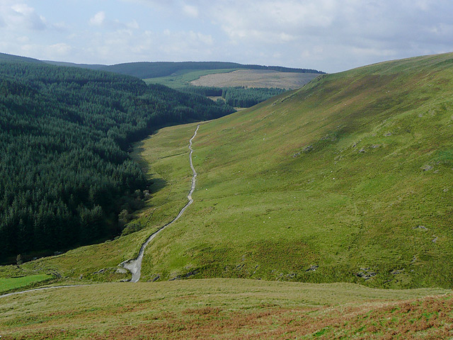 The upper Tywi Valley, Powys