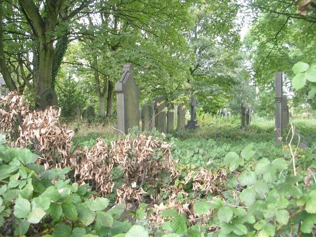 St Peter's Graveyard - Victoria Road
