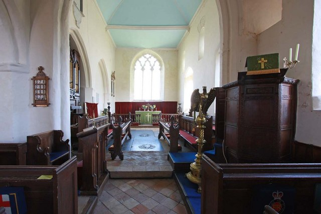 All Saints, Kirby Cane, Norfolk - East end