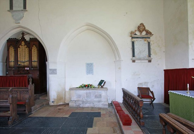 All Saints, Kirby Cane, Norfolk - Chancel