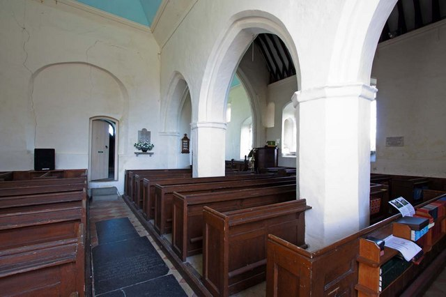 All Saints, Kirby Cane, Norfolk - Interior
