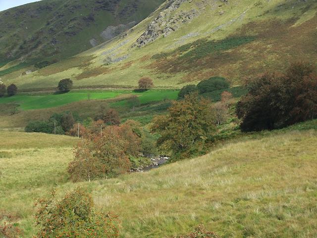 The upper Tywi Valley, north of Llyn Brianne, Powys