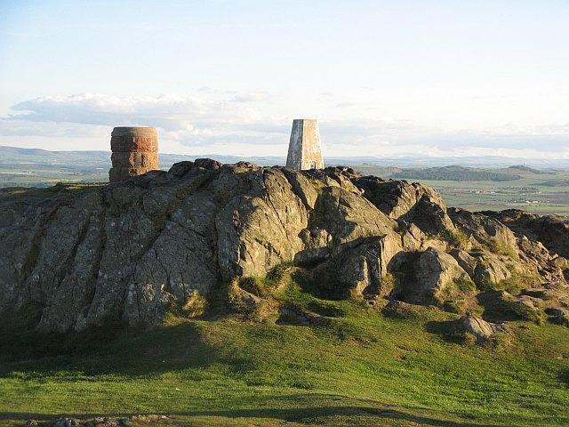 The summit, North Berwick Law