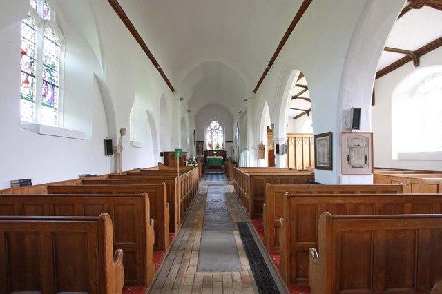St Mary, Ellingham, Norfolk - East end