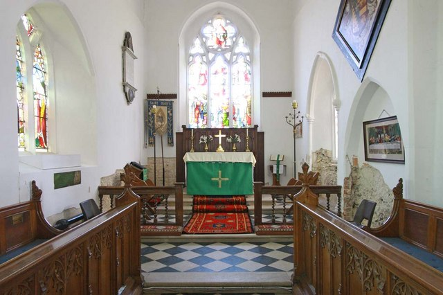 St Mary, Ellingham, Norfolk - Chancel