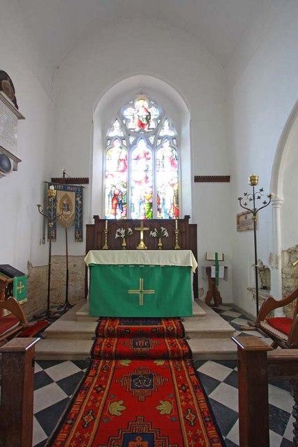 St Mary, Ellingham, Norfolk - Chancel