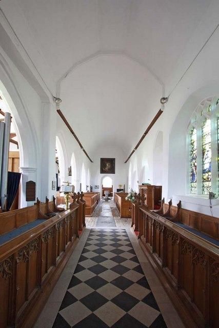 St Mary, Ellingham, Norfolk - West end